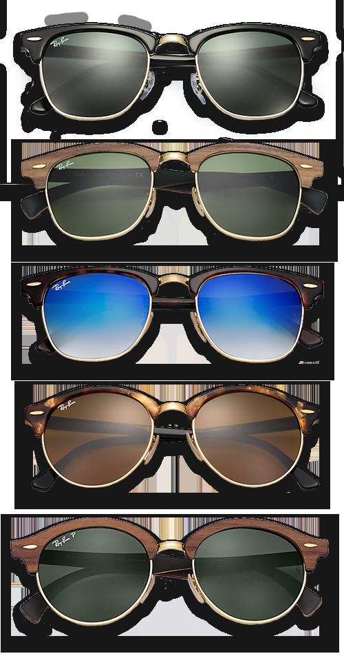 315f7aca0ea517 Ray-Ban Clubmaster & Clubround zonnebril | Krommenie